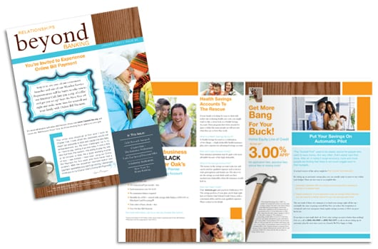Newsletter with Content Marketing