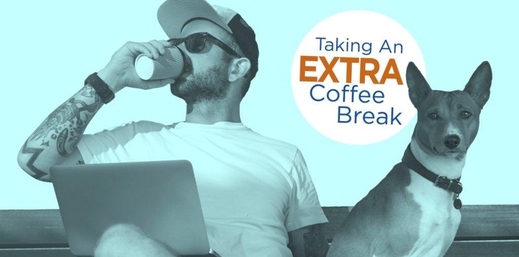 m-powered coffee break