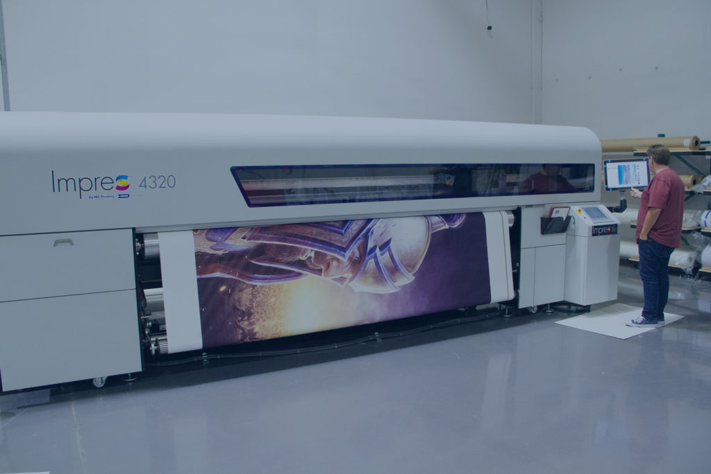 Wide Format Fabric Printing Machine