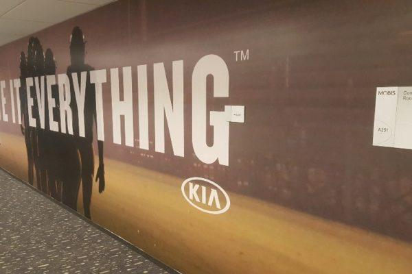 Kia Motors Hallway