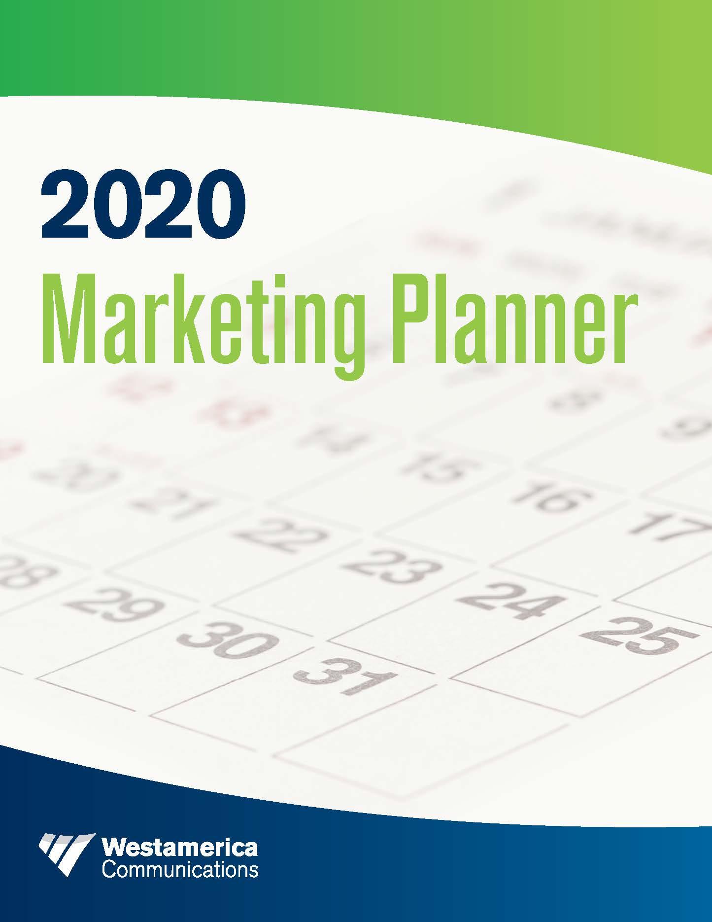 Westamerica Communications Marketing Planner
