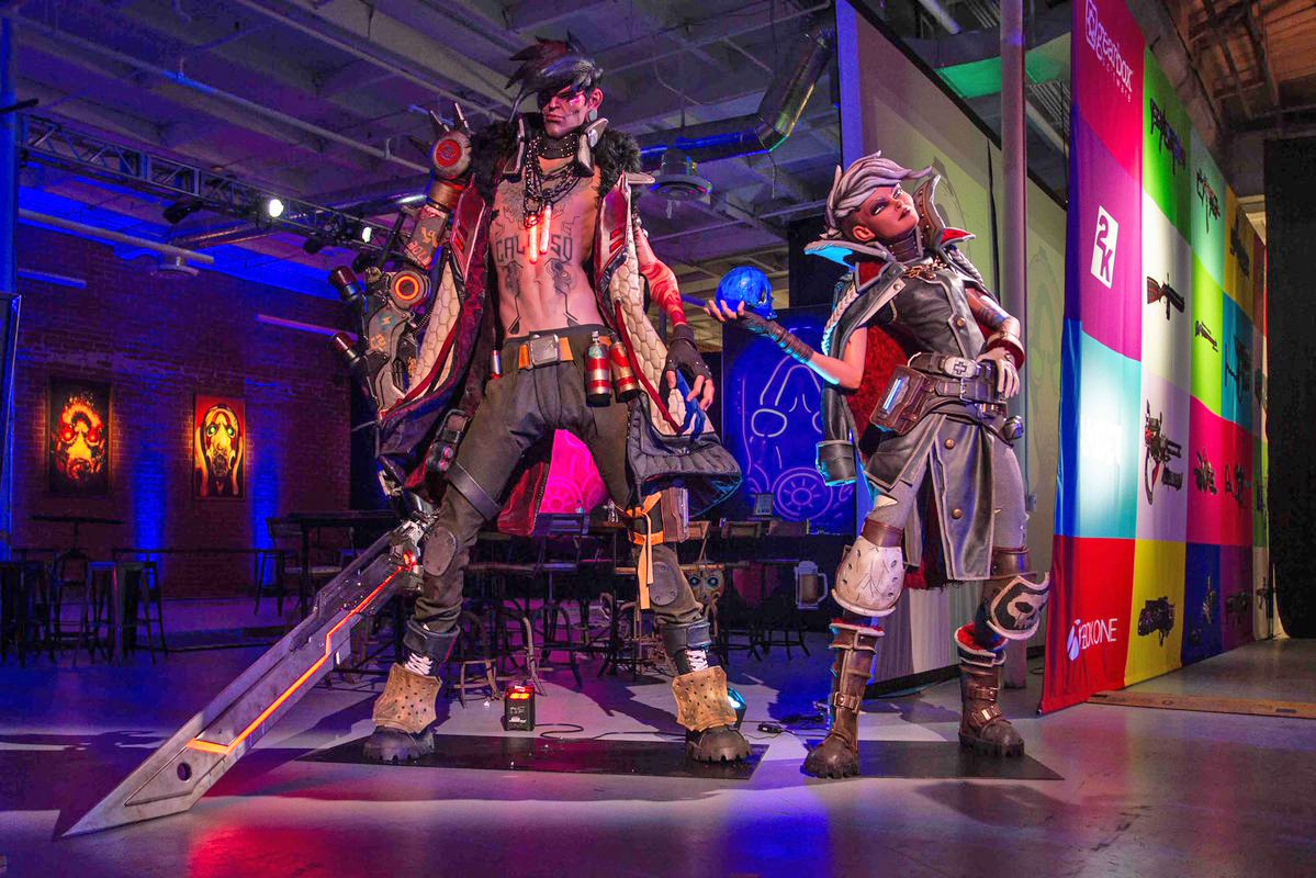Westamerica's Client 2K Games Shine at Industry Show