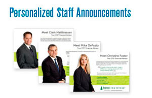 Personalized Staff Announcements